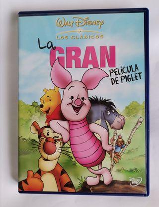 La gran pelicula de piglet dvd