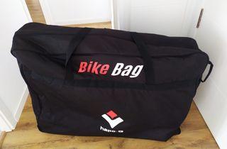 Funda-maleta con ruedas para bicicleta Hapo G