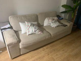 Sofa kivik 3 plazas beige