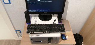 PC+ Altavoces + Teclado y ratón + Monitor