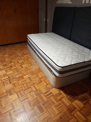 canapé y colchón de 90x180