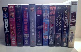 Lotes surtidos de VHS