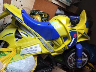 Moto grande, juguettos