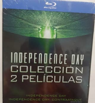 BLU-RAY - Pack Independece Day 1 y 2 STEELBOOK