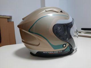 casco moto poco uso