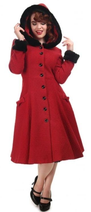 Abrigo rojo Collectif