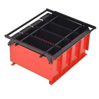 Prensa para hacer briquetas con papel 38x31x18 cm