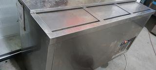 botellero frigorifico acero