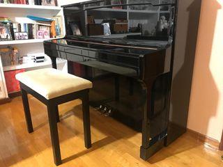 Piano Acústico Hermann + Banqueta