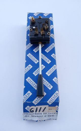 conmutador mando luces RENAULT 6 (70-73)