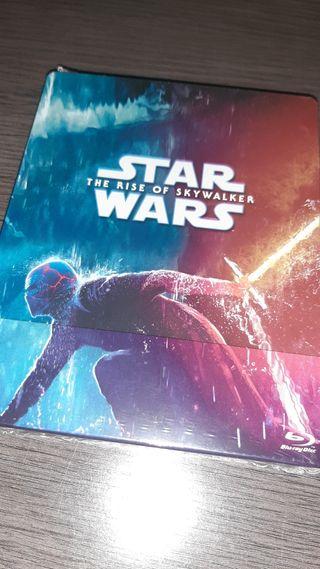 Star Wars el ascenso de Skywalker steelbook bluray