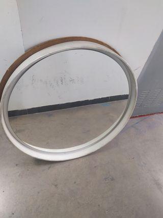 espejo redondo antiguo
