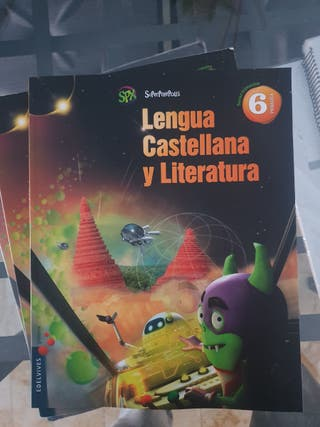 libros lengua seminuevos sexto primaria
