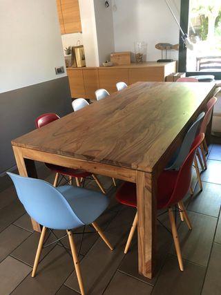 Mesa madera maciza comedor