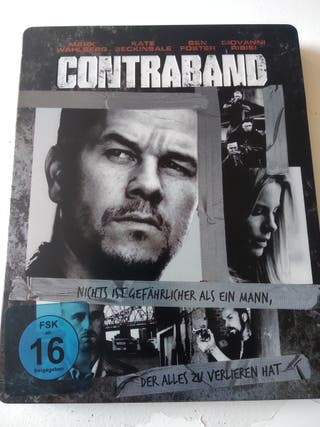 Steelbook. Contraband. Bluray