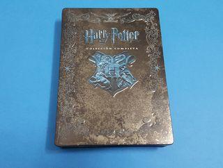 Steelbook Saga Harry Potter Bluray