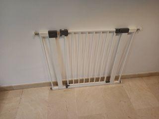 Barrera escalera o puertas, ajustable de 83-94 cms