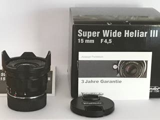 Voigtlander Super Wide Heliar III 15mm Leica