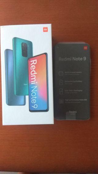 Móvil Xiaomi Redmi Note 9 128Gb Nuevo