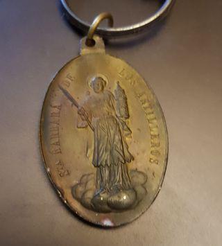 Medalla Santa Bárbara de los Artilleros 1893.