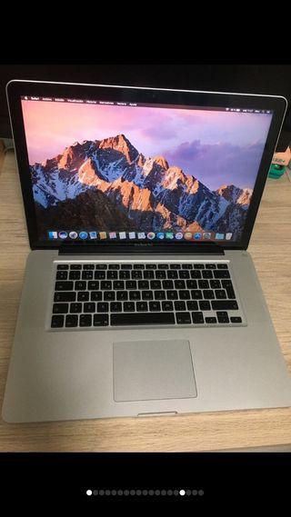 MacBook Pro de 15 i5/500gb