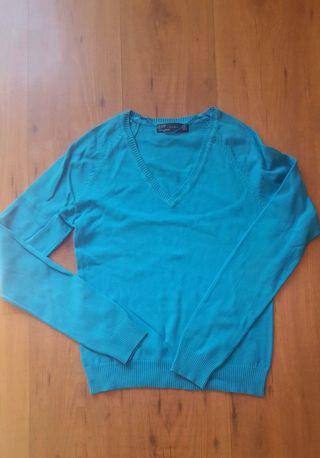 Jersey pico Zara M azul
