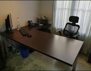 Mesa oficina madera maciza (despacho de abogados)