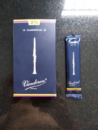 Cañas clarinete Vandorem 2 1/2