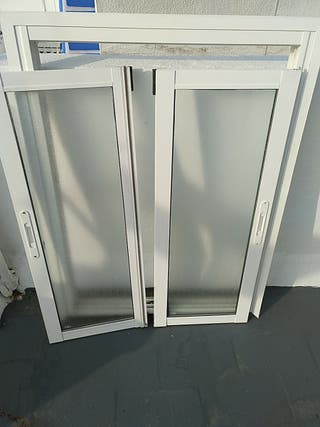 ventana de aluminio climalic blanco