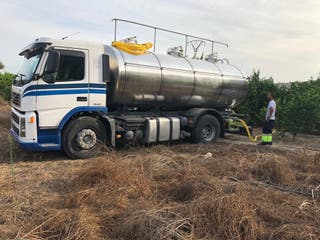 Transporte agua potable