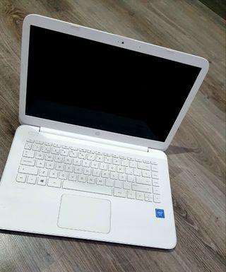 portatil hp blanco