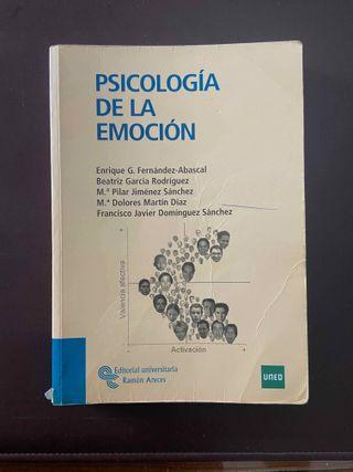 Libro Psicología de la emoción UNED
