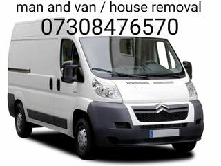 man and van / removal / house clearance.