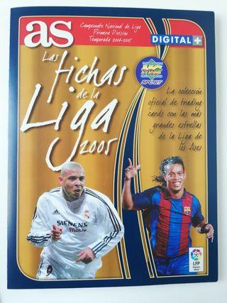 Álbum Las Fichas de la Liga 2005