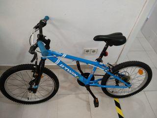Bicicleta niño Btwin niño año 2018