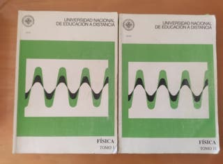 NEGOCIABLE! Libros Física I de la UNED