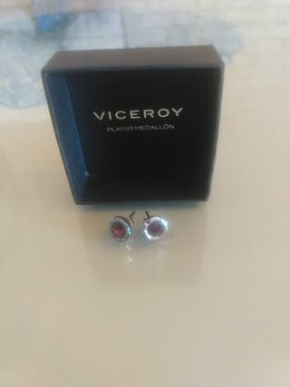 Pendientes de plata (Viceroy)