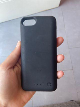Funda cargadora iphone 7