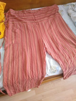 Pantalón tailandés multicolor