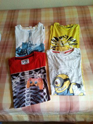 Lote camisetas 13-14