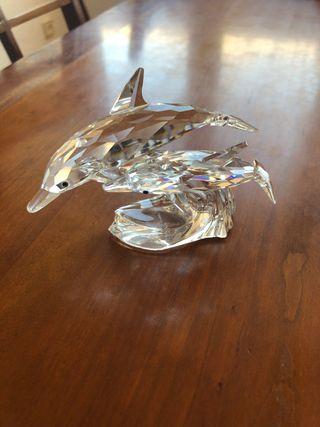 Figura Swarovski delfines