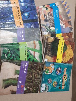 libros texto 5° primaria