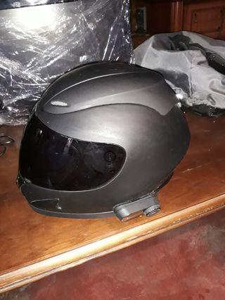 casco con intercomunicador