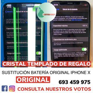 Batería iPhone X original cambiar batería iphone x
