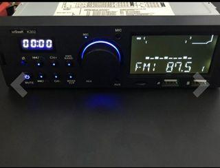 Nuevo, radio Bluetooth USB MP3 WMA