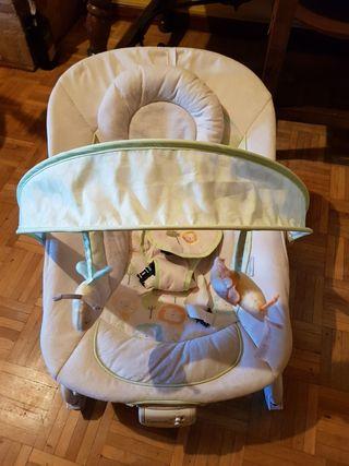 silla mecedora bebé con vibración
