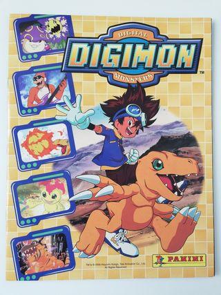 Álbum Digimon Digital Monster