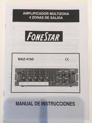 Amplificador de audio