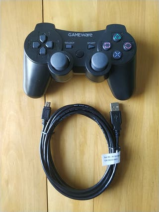 PS3 (Mando Bluetooth GameWare+Cable De Carga)
