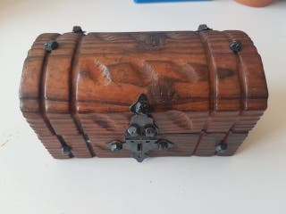 caja cofre madera